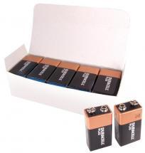 Duracell Plus 9V Batteries, 10 Pack