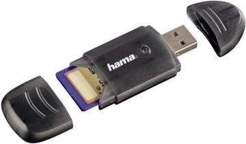 Hama USB 2.0 Memory Card Reader - Anthracite/Black