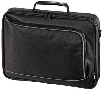"Hama 15.6"" Sportsline Bordeaux Laptop Bag, Black"
