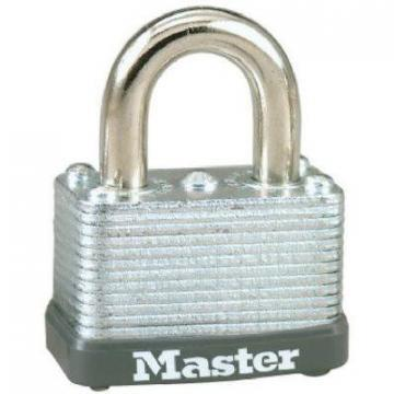 "Master Lock 1-1/2"" Warded Steel Padlock"