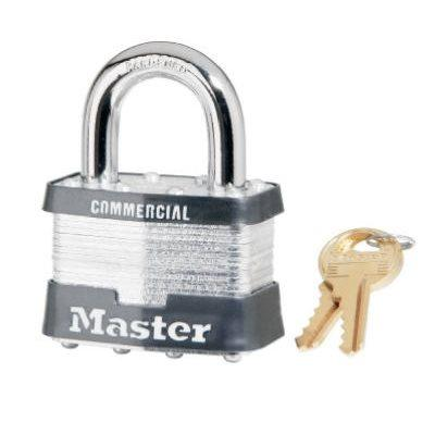 "Master Lock 2"" Laminated Steel Keyed-Alike Padlock"