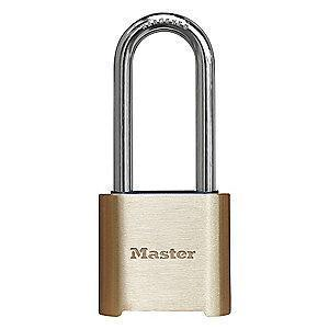 Master Lock Combination Padlock, Resettable Bottom-Dial Location, 2""