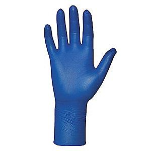 "Microflex 11"" Unlined Nitrile Disposable Gloves, Blue, Size  XL, 100PK"
