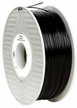 Verbatim 1.75mm Black ABS Filament for 3D Printer, 404m Reel, 1kg