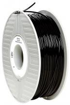 Verbatim 2.85mm Black PLA Filament for 3D Printer, 119m Reel, 1kg