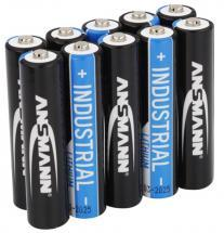 Ansmann AAA Industrial Lithium Batteries 10 Pack