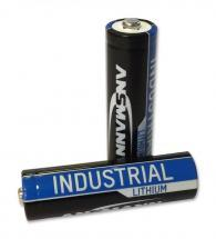 Ansmann AA Industrial Lithium Batteries 10 Pack