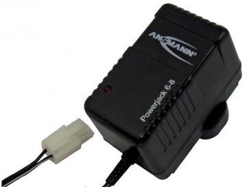Ansmann Powerjack 6-8 Ni-Cd/Ni-MH Battery Pack Charger