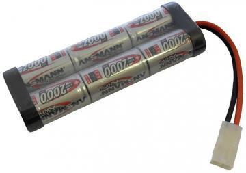 Ansmann Ni-MH Racing Car Battery Pack 7.2V 2000mAh