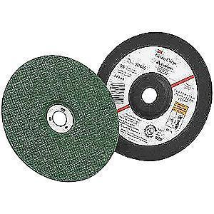 "3M 4-1/2"" Type 1 Ceramic Cut-Off Wheel, 7/8"" Arbor, 3/64""-Thick, 13,300 Max. RPM"