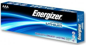 Energizer Ultimate Lithium AAA Batteries, 10 Pack