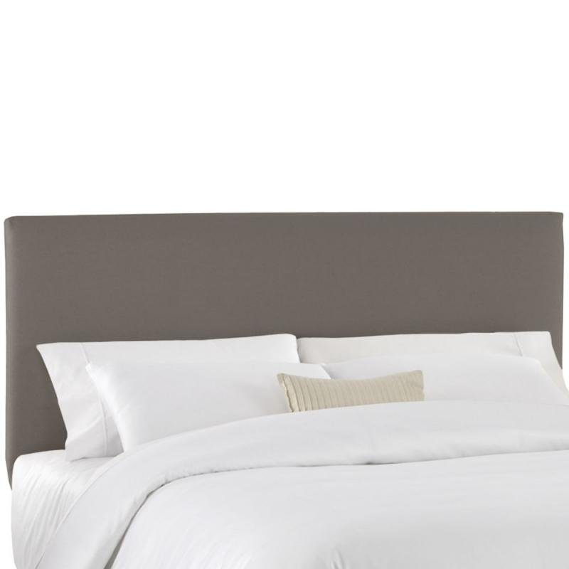 Skyline Furniture Twin Slip Cover Headboard in Grey