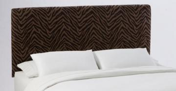 Skyline Furniture Queen Slip Cover Headboard in Bam Zizi