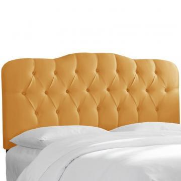 Skyline Furniture Tufted Queen Headboard In Shantung Aztec
