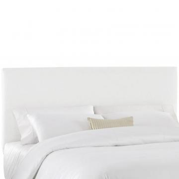Skyline Furniture Full Slip Cover Headboard in White