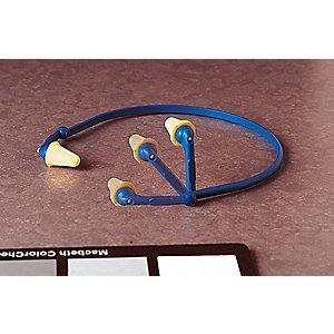 3M 25dB Reusable Tapered-Shape Hearing Band; Banded, Yellow, Universal