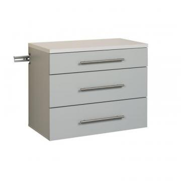 Prepac HangUps 3-Drawer Base Storage Cabinet