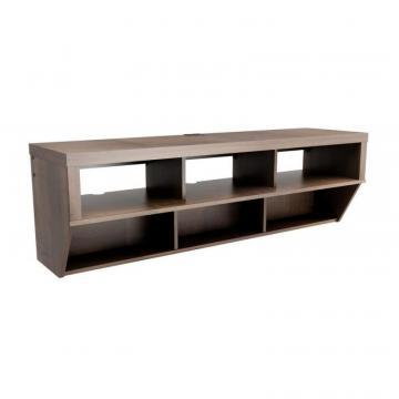 "Prepac Espresso 58"" Wide Wall Mounted AV Console - Series 9 Designer Collection"