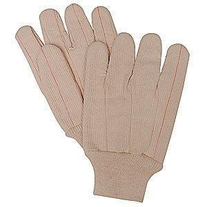 Condor Heat Resistant Gloves, Polyester/Cotton, 250°F Max. Temp., Men's L, PR 1