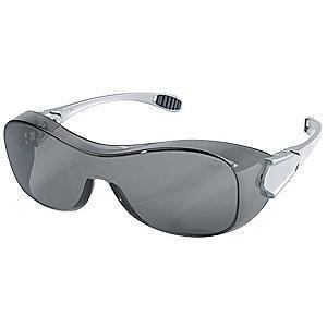 Condor Oxulux  OTG Anti-Fog, Scratch-Resistant Safety Glasses, Gray Lens Color