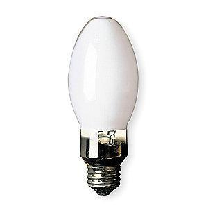GE 100W High Pressure Sodium HID Lamp, B17, E26, 8800 lm, 2000K