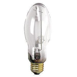 GE 100W High Pressure Sodium HID Lamp, B17, E26, 9500 lm, 2000K