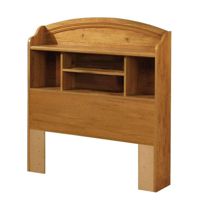 South Shore Country Pine Bookcase Headboard