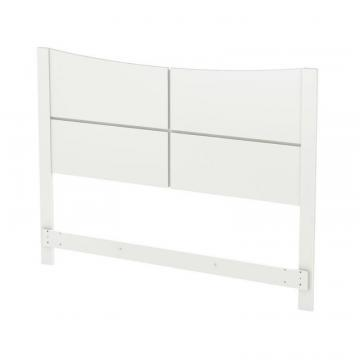South Shore Majestic Queen Headboard (60 inch), Pure White