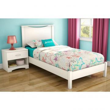 "South Shore Twin 39"" Headboard Pure White"