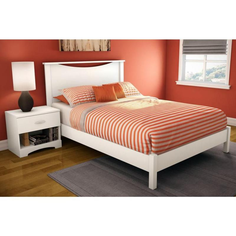 "South Shore Full 54"" Headboard Pure White"