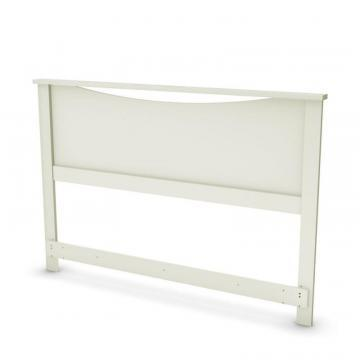 "South Shore Majestic Full 54""/Queen 60"" Headboard, Pure White"