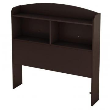 "South Shore Logik Twin 39"" Bookcase Headboard, Chocolate"