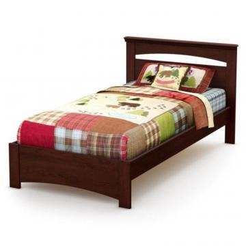 South Shore Tender Dreams Twin Bed Royal Cherry