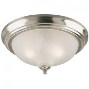 Westinghouse Westinghouse 11-Inch Brushed Nickel Ceiling Fixture