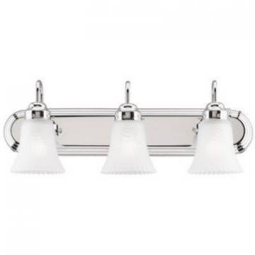 Westinghouse 3-Light Wall Mount Chrome Light Fixture