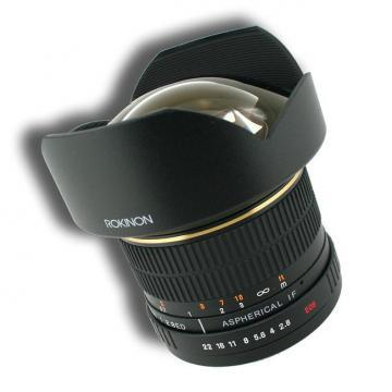 Rokinon Ultra Wide Angle 14mm F2.8 Lens for Olympus