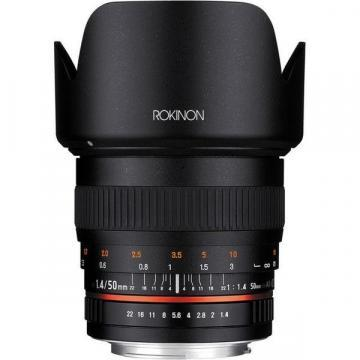 Rokinon 50mm F1.4 Lens for Nikon Digital SLR Cameras