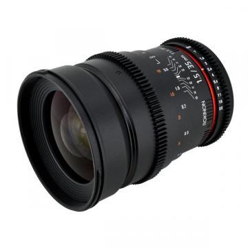 Rokinon 35mm T1.5 ED AS IF UMC Cine Wide Angle Lens for Micro 4/3