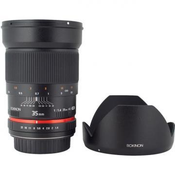Rokinon 35mm f/1.4 Aspherical Lens for Pentax Cameras