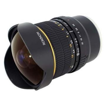 Rokinon FE8M-NEX 8 mm f/3.5 Fisheye Lens for Sony E