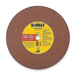 "DeWalt 14"" Type 1 Silicon Carbide Cut-Off Wheel, 1"" Arbor, 1/8"", 5500 RPM"