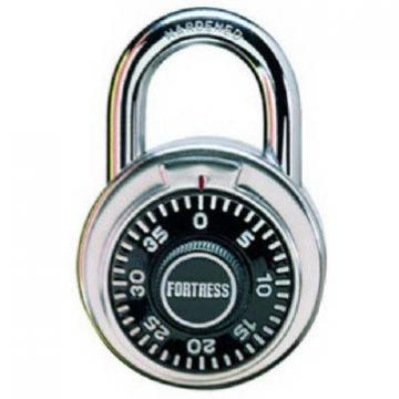 "Master Lock 1-7/8"" Stainless-Steel Combination Lock"