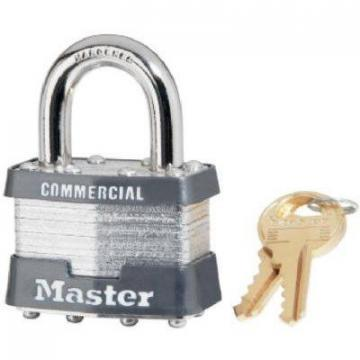 "Master Lock 1-3/4"" Keyed-Alike Laminated Padlock"
