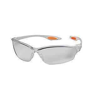 MCR Law  2 Anti-Fog, Scratch-Resistant Safety Glasses, Clear Lens Color