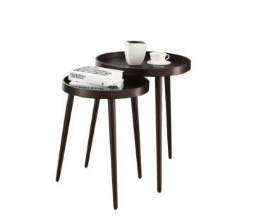 Monarch Nesting Table - 2Pcs Set / Cappuccino