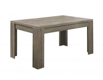 "Monarch Dining Table - 36""X 60"" / Dark Taupe"