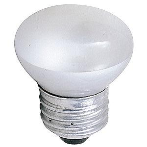 GE 40W Incandescent Lamp, R14, Medium Screw (E26), 280 lm, 2700K