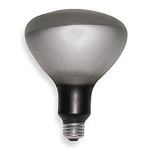 GE 300W Incandescent Lamp, R40, Medium Screw (E26), 3700 lm, 2700K