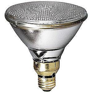 GE 80W Halogen Lamp, PAR38, Medium Screw (E26), 1600 lm, 3000K