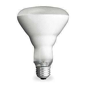 GE 65W Incandescent Lamp, BR40, Medium Screw (E26), 700 lm, 2600K